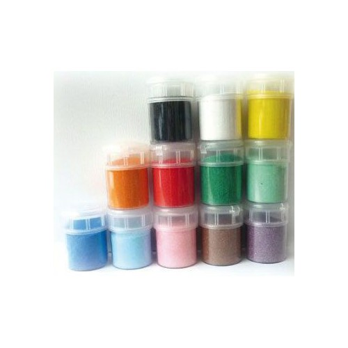 POT 12X45G SABLE COULEURS SUPER VIVES
