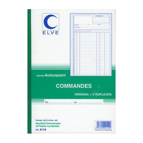 MANIFOLD COMMANDES A4 TRIPLI NCR