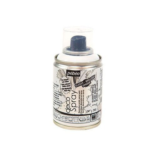 AEROSOL 100ML DECOSPRAY BRILLANT BLANC