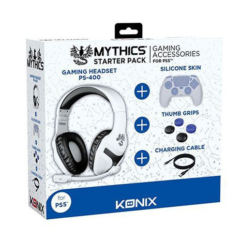 PACK STARTER SONY PS5 KONIX MYTHICS
