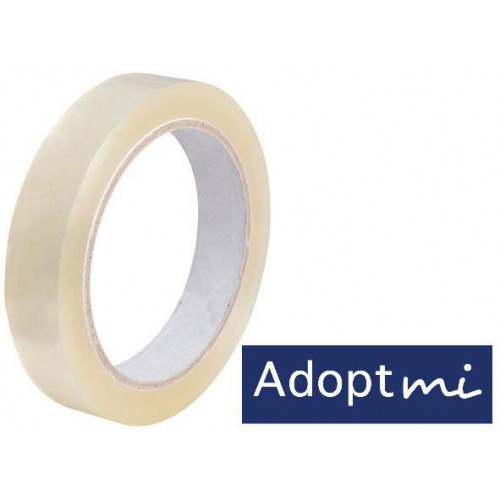 ADHESIF TRANSPARENT 19MMX10M