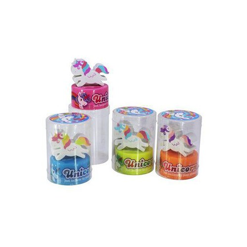 GOMME TAILLE CRAYON LICORNE ASSORTIS