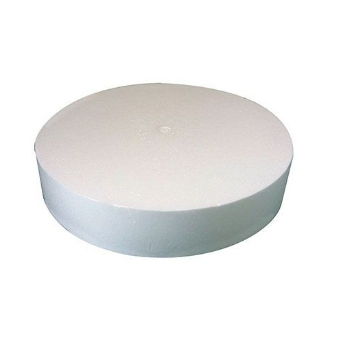 SUPPORT POLYSTYRENE DISQUE DIAM250MM