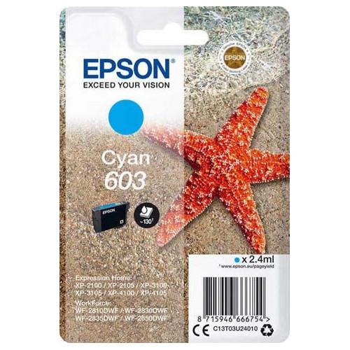 CARTOUCHE JET ENCRE EPSON 603 ETOILE DE