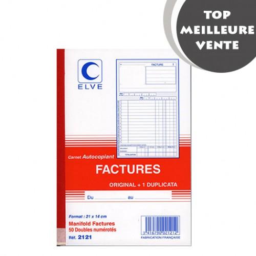 MANIFOLD FACTURES 14X21 50F DUPLI NCR