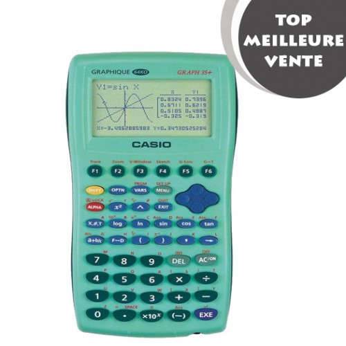 CALCULATRICE SCIENTIFIQUE GRAPH 35+E
