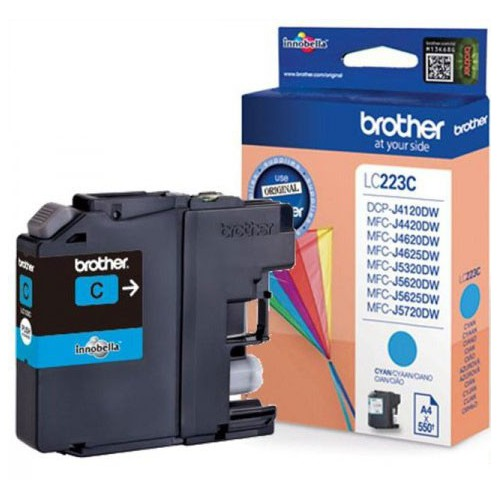 CARTOUCHE JET ENCRE BROTHER LC223 CYAN