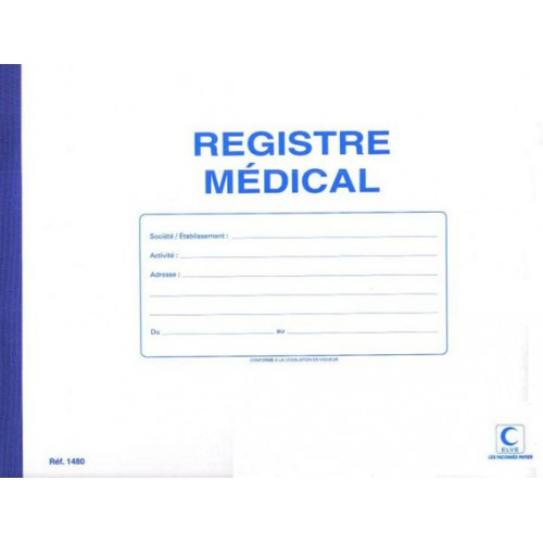 PIQURE 25X32 60P REGISTRE MEDICAL