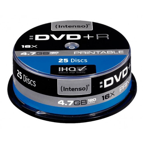 TOUR 25 DVD+R 120MN 4.7GO 16X IMPRIMABLE