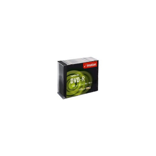 Pack 10 Dvd+R 120Mn 4.7Go 16X Imation