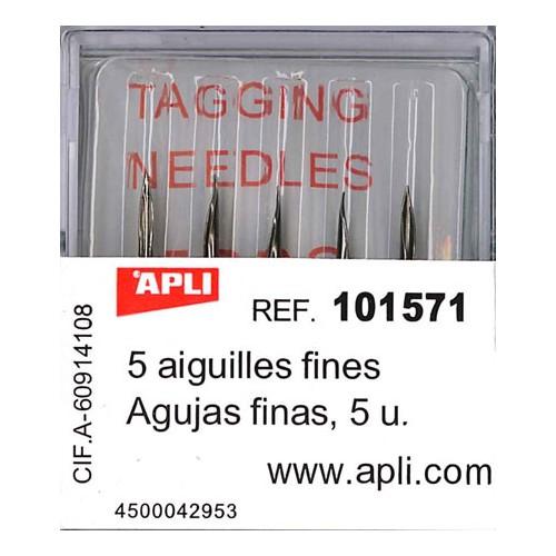 Boite 5 Aiguilles Fines 101546A Apli