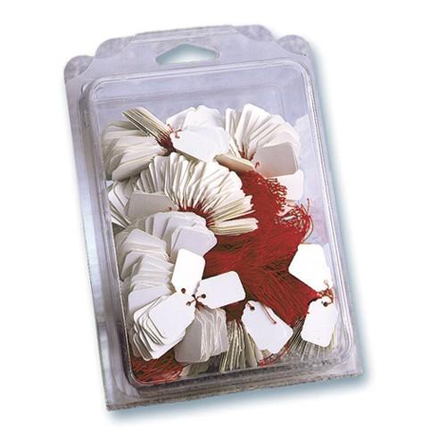 Poch 100 Etiquettes 36X53Mm Fil Blanc