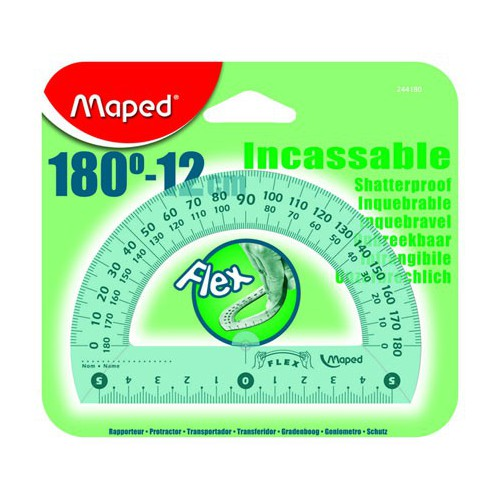 RAPPORTEUR 180D 12CM INCASSABLE FLEX